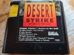 Cartridge (Front)   Desert Strike Return to the Gulf Sega Genesis