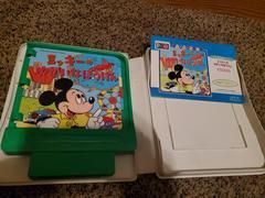 Cartridge And Manual | Mickey Mouse Yuka Hana Bouken JP Sega Pico