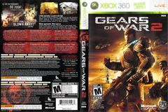 Slip Cover Scan By Canadian Brick Cafe   Gears of War 2 Xbox 360