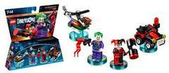 Joker And Harley Quinn | DC Comics - Joker & Harley Quinn [Team Pack] Lego Dimensions