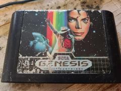 Cartridge (Front) | Michael Jackson Moonwalker Sega Genesis