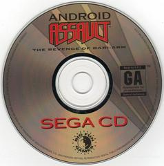 Android Assault - Disc | Android Assault Sega CD