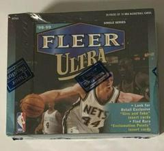 Retail Box Basketball Cards 1998 Ultra Prices