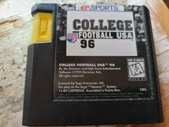 Cartridge (Front)   College Football USA 96 Sega Genesis