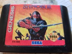 Cartridge (Front) | Shinobi III Return of the Ninja Master Sega Genesis