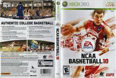 Artwork - Back, Front | NCAA Basketball 10 Xbox 360