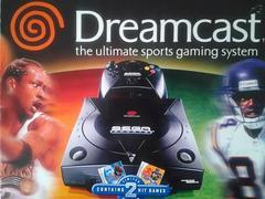 Front Cover | Sega Dreamcast Console Black Sega Dreamcast