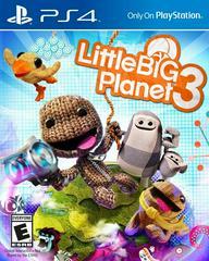 Front Cover Art | LittleBigPlanet 3 Playstation 4