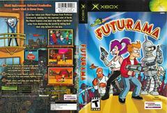 Artwork - Back, Front | Futurama Xbox