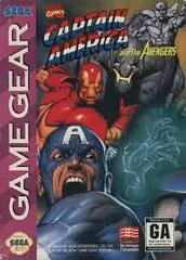 Captain America And The Avengers - Front | Captain America and the Avengers Sega Game Gear
