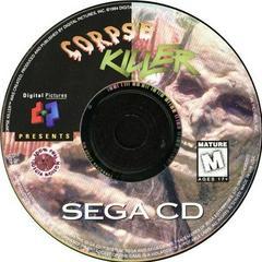 Corpse Killer - Disc | Corpse Killer Sega CD