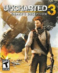 Manual - Front   Uncharted 3: Drake's Deception Playstation 3