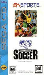 FIFA International Soccer - Front / Manual | FIFA International Soccer Sega CD