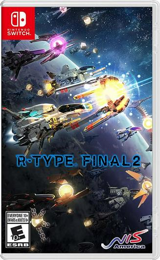 R-Type Final 2 Cover Art