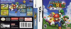 Box Art - Back, Front   Super Mario 64 DS Nintendo DS