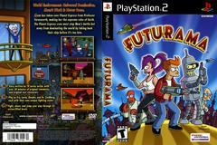 Artwork - Back, Front | Futurama Playstation 2