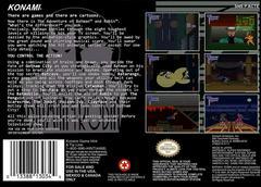 Adventures Of Batman And Robin - Back   Adventures of Batman and Robin Super Nintendo