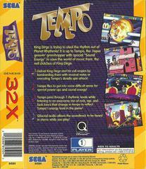Tempo - Back | Tempo Sega 32X
