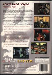 Back Cover   Resident Evil [Long Box] Playstation