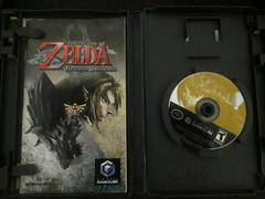 Game Disc Case Open  | Zelda Twilight Princess Gamecube