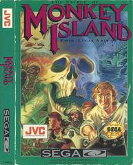 The Secret Of Monkey Island - Front / Manual | The Secret of Monkey Island Sega CD