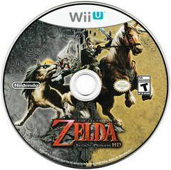 Game Disc | Zelda Twilight Princess HD Wii U