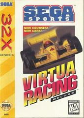 Virtua Racing Deluxe - Front | Virtua Racing Deluxe Sega 32X