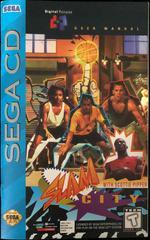 Manual Front | Slam City Sega CD