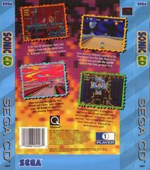 Sonic CD - Back | Sonic CD Sega CD