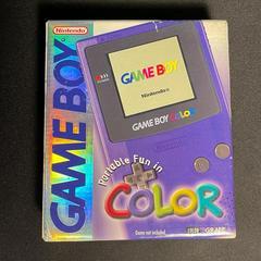 Box - Front   Game Boy Color Grape GameBoy Color