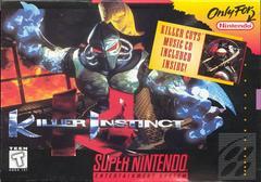 Front Cover | Killer Instinct Super Nintendo