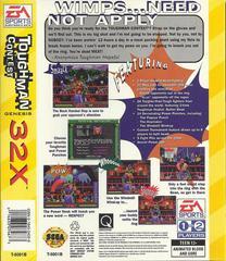Toughman Contest - Back | Toughman Contest Sega 32X