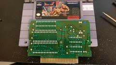 Cartridge Label And Board Back | Breath of Fire Super Nintendo