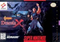 Castlevania Dracula X - Front   Castlevania Dracula X Super Nintendo
