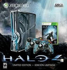 Box Art | Halo 4 Limited Edition 320GB Blue Console Xbox 360