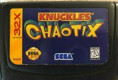 Knuckles Chaotix - Cartridge   Knuckles Chaotix Sega 32X