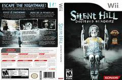 Artwork - Back, Front | Silent Hill: Shattered Memories Wii