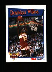 Dominique Wilkins Basketball Cards 1991 Hoops Slam Dunk Prices