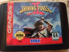 Cartridge - Front   Shining Force II Sega Genesis
