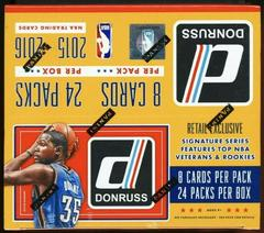 Retail Box Basketball Cards 2015 Panini Donruss Prices