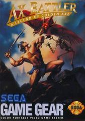 Ax Battler A Legend Of Golden Axe - Front | Ax Battler a Legend of Golden Axe Sega Game Gear