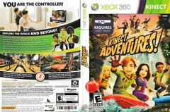 Artwork - Back, Front | Kinect Adventures Xbox 360