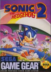 Front Cover | Sonic the Hedgehog 2 Sega Game Gear