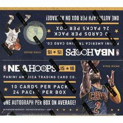 Retail Box Basketball Cards 2015 Panini Hoops Prices