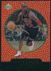 Michael Jordan [Gold] Basketball Cards 1998 Upper Deck Ovation Prices