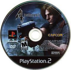 Disc   Resident Evil 4 Playstation 2