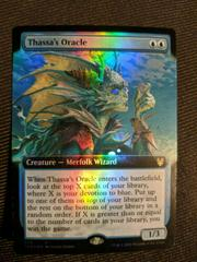Thassa's Oracle [Extended Art Foil] Magic Theros Beyond Death Prices