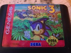 Cartridge (Front) | Sonic the Hedgehog 3 Sega Genesis
