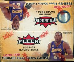 Retail Box Basketball Cards 2008 Fleer Prices