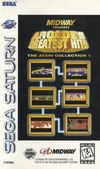 Greatest Hits Atari Collection - Front / Manual   Arcade's Greatest Hits Atari Collection Sega Saturn